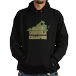 Virginia State Cornhole Champ Hoodie (dark)