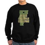 Vermont State Cornhole Champi Sweatshirt (dark)