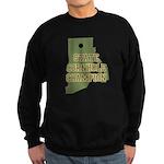 Rhode Island State Cornhole C Sweatshirt (dark)