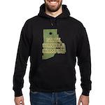 Rhode Island State Cornhole C Hoodie (dark)