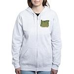 Oregon State Cornhole Champio Women's Zip Hoodie