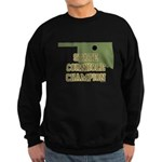 Oklahoma State Cornhole Champ Sweatshirt (dark)