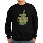 New Hampshire State Cornhole Sweatshirt (dark)