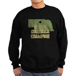 Nebraska State Cornhole Champ Sweatshirt (dark)
