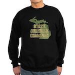 Michigan State Cornhole Champ Sweatshirt (dark)