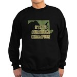 Maryland State Cornhole Champ Sweatshirt (dark)