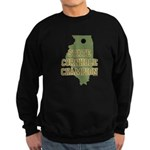 Illinois State Cornhole Champ Sweatshirt (dark)