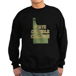 Idaho State Cornhole Champion Sweatshirt (dark)