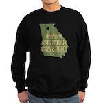 Georgia State Cornhole Champi Sweatshirt (dark)