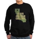 California State Cornhole Cha Sweatshirt (dark)