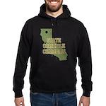 California State Cornhole Cha Hoodie (dark)