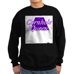 Cornhole Queen Sweatshirt (dark)