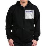 Cornhole Zip Hoodie (dark)