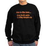 Sex is like beer Sweatshirt (dark)