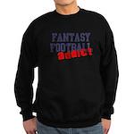 Fantasy Football Addict Sweatshirt (dark)