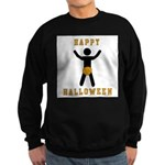 Dick In A Pumpkin Sweatshirt (dark)