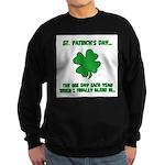 St. Patrick's Day - Blend In Sweatshirt (dark)