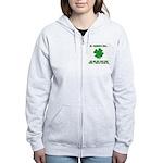 St. Patrick's Day - Blend In Women's Zip Hoodie