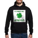St. Patrick's Day - Blend In Hoodie (dark)