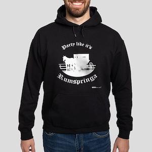 Party Like It's Rumspringa Hoodie (dark)