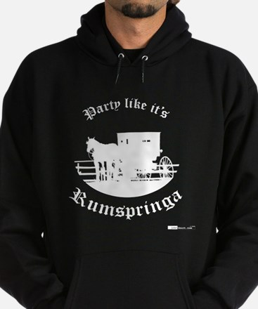 Party Like It's Rumspringa Hoodie (dark)