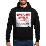 Ninja - Saying you're sorry Hoodie (dark)