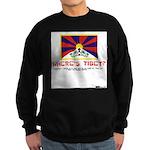 Where's Tibet. Seriously... Sweatshirt (dark)