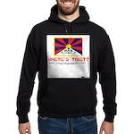 Where's Tibet. Seriously... Hoodie (dark)
