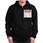 Anyone You Can Do, I Can Do B Zip Hoodie (dark)