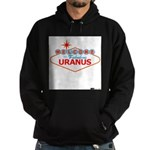 Welcome to Uranus Hoodie (dark)