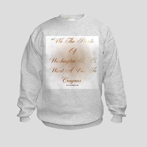 Bill Of Rights Kids Sweatshirt