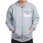 Jokes About Feminine Hygiene Zip Hoodie