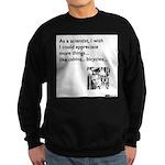 Scientist Cabin Bicycle Sweatshirt (dark)