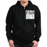 FSH Zip Hoodie (dark)
