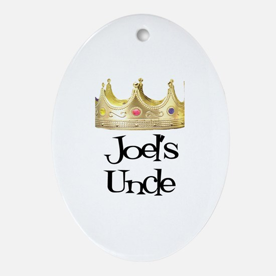 Joel's Uncle Oval Ornament
