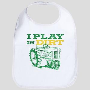 Play In Dirt Tractor Bib
