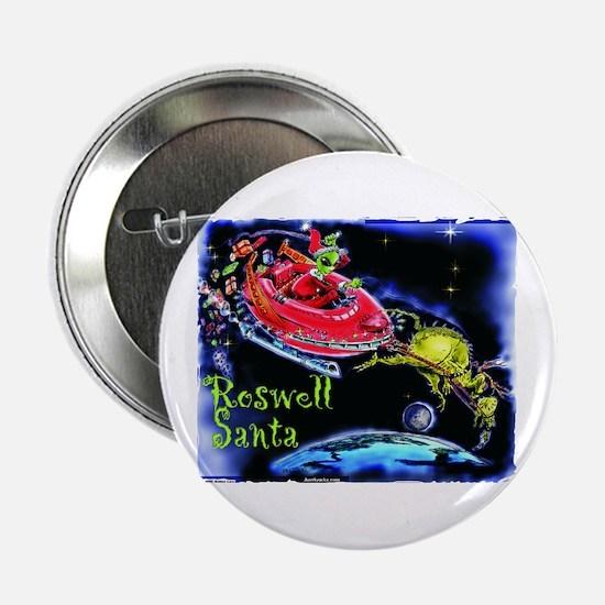 Roswell Santa Button
