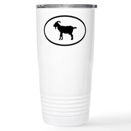 Goat Stainless Steel Travel Mug