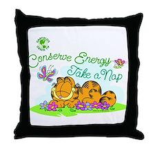 Conserve Energy Throw Pillow