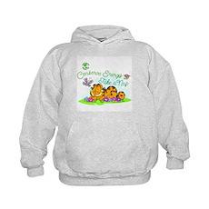 Conserve Energy Kids Hoodie