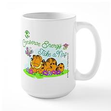 Conserve Energy Large Mug