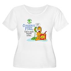 Conserve Fuel Women's Plus Size Scoop Neck T-Shirt