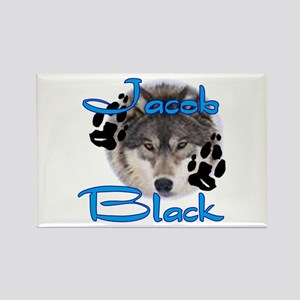 Jacob Black /1 Rectangle Magnet