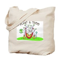 Plant A Tree Tote Bag