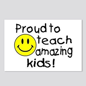 Proud To Teach Amazing Kids Postcards (Package of