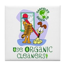 Organic Cleaners Tile Coaster