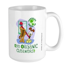 Organic Cleaners Large Mug