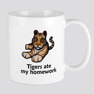 Tigers ate my homework Mug