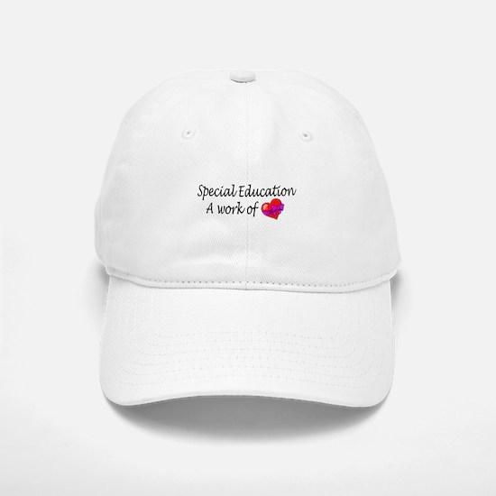 Special Education, A Work Of Love Baseball Baseball Cap