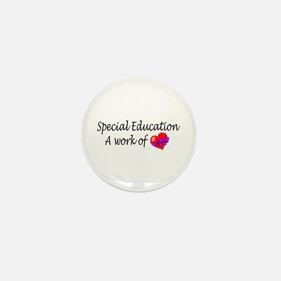 Special Education, A Work Of Love Mini Button